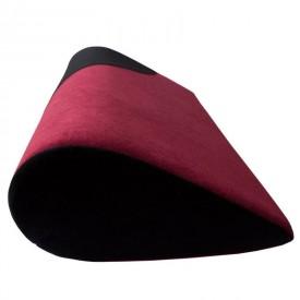 Малиново-черная подушка для любви LOLA