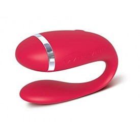 Красный вибратор для пар на батарейках We-Vibe Special Edition